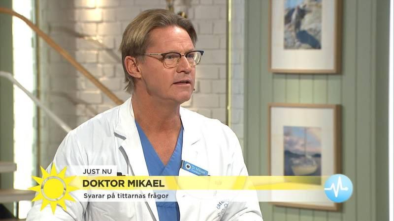 Botox mot svett, Fråga doktorn på tv4